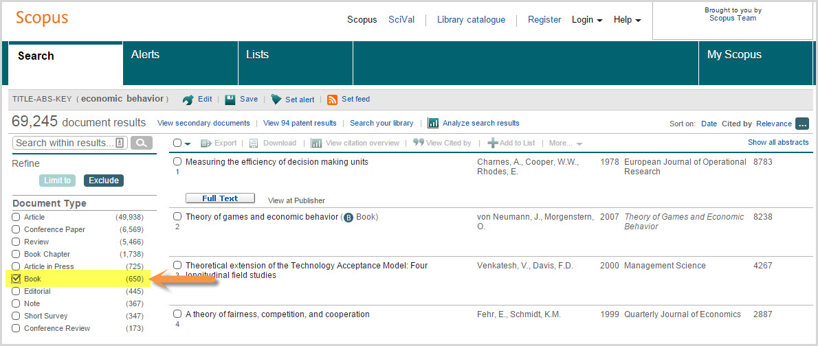 scopus research papers