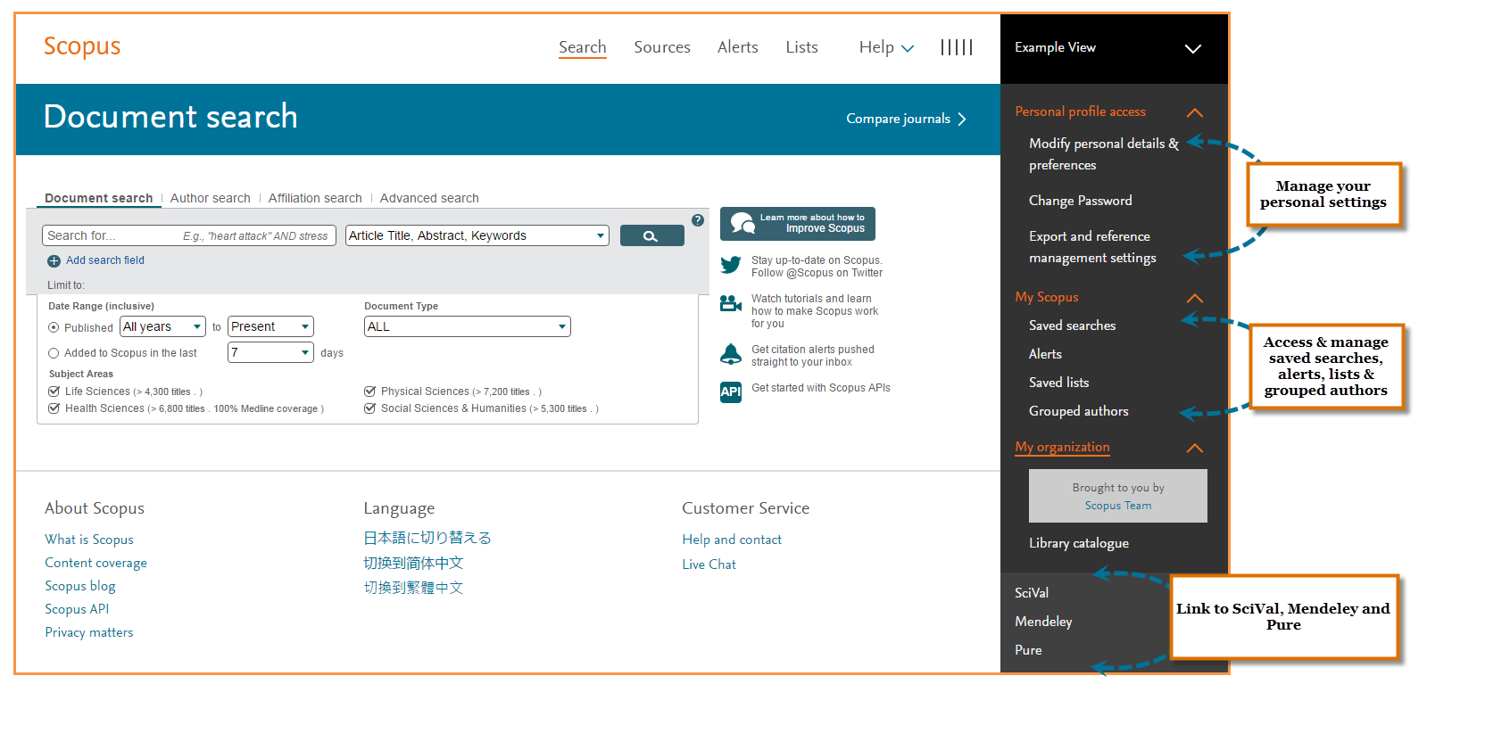 A new look for Scopus | Elsevier Scopus Blog
