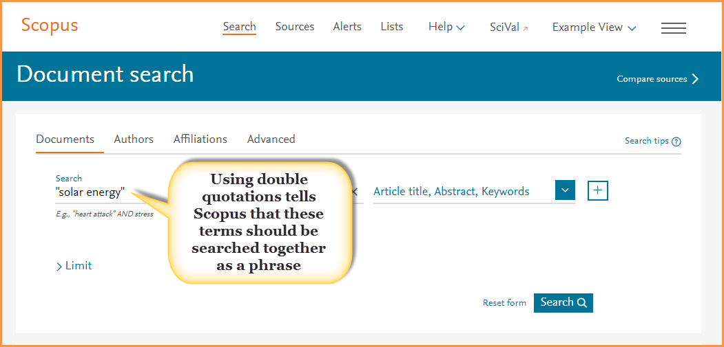 Scopus Tip & Trick: Search sma...